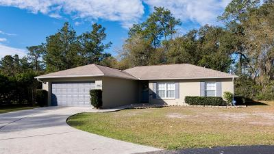 Silver Springs Single Family Home For Sale: 13026 NE 13th Place