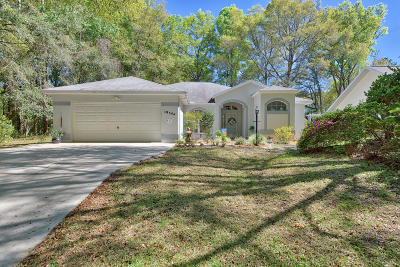 Dunnellon Single Family Home For Sale: 19344 SW 91st Loop Loop