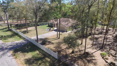 Ocala Single Family Home For Sale: 10592 NW 11th Place Place