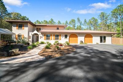 Dunnellon Single Family Home For Sale: 18611 SW 60th Street