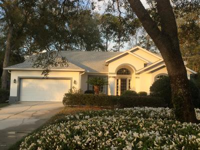 Dunnellon Single Family Home For Sale: 9641 SW 194 Circle