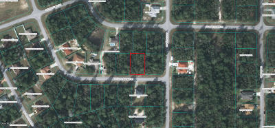 Marion Oaks North, Marion Oaks Rnc, Marion Oaks South Residential Lots & Land For Sale: SW 23rd Ave Road