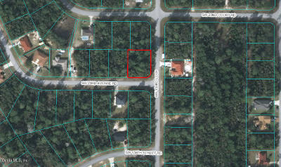 Marion Oaks North, Marion Oaks Rnc, Marion Oaks South Residential Lots & Land For Sale: SW 23 Ave Road