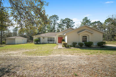 Ocala Single Family Home For Sale: 6420 SW 134 Terrace Road
