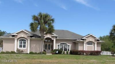 Silver Springs Single Family Home For Sale: 5849 NE 72nd Street