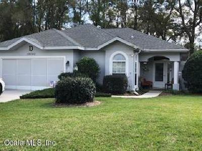 Dunnellon Single Family Home For Sale: 19040 SW 91st Street