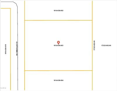 Dunnellon Residential Lots & Land For Sale: Lot 3 NW Timberlake Road