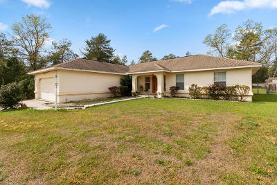Ocala Single Family Home For Sale: 15168 SW 47th Court