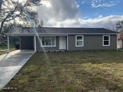Ocala Single Family Home For Sale: Aspen Rd