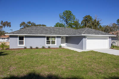 Ocala Single Family Home For Sale: Dogwood Dr Circle