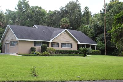 Ocala Single Family Home For Sale: 3650 SW 5th Court