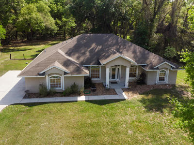 Citra Single Family Home For Sale: 18325 NE 19th Court