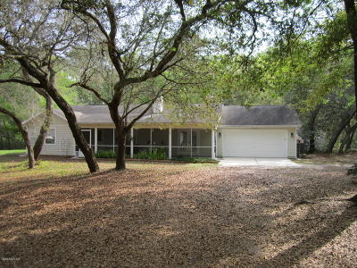 Fort McCoy Single Family Home For Sale: 16439 NE 149th Avenue