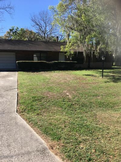 Ocala Single Family Home For Sale: 4280 NE 3rd Court