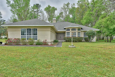 Ocala Single Family Home For Sale: 720 SW 89th Terrace