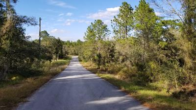 Dunnellon Residential Lots & Land For Sale: SW Big Tree Road
