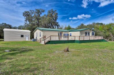 Fort McCoy Single Family Home For Sale: 22330 NE 101st Terr Road