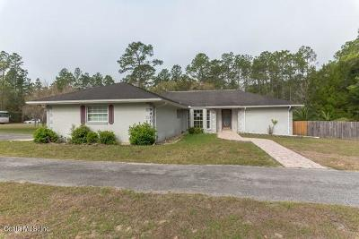 Dunnellon Single Family Home For Auction: 9400 SW 206th Court Road