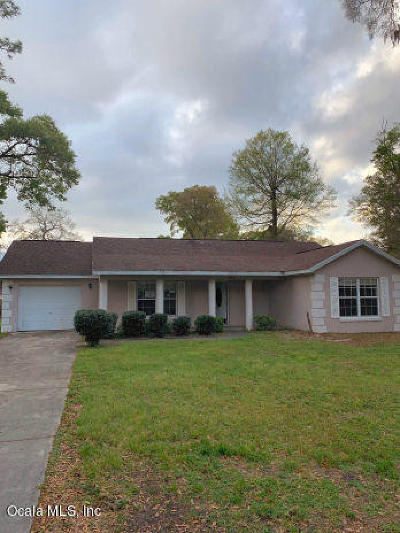 Ocala Single Family Home For Sale: 3800 NE 14 Avenue