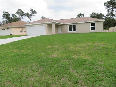 Ocala Single Family Home For Sale: 2890 SW 162nd Lane