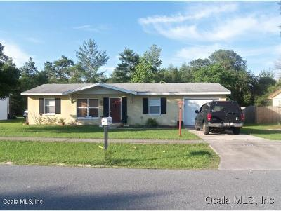 Ocala Single Family Home For Sale: 14435 SW 34th Terrace Road