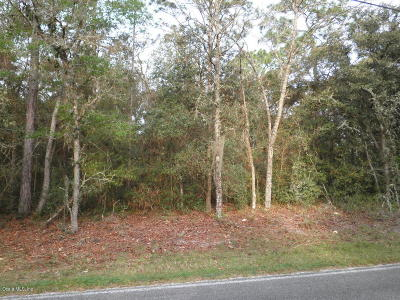 Dunnellon Residential Lots & Land For Sale: Lot 58 SW 181st Court
