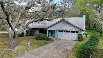 Dunnellon Single Family Home For Sale: 18541 SW 108 Place Place
