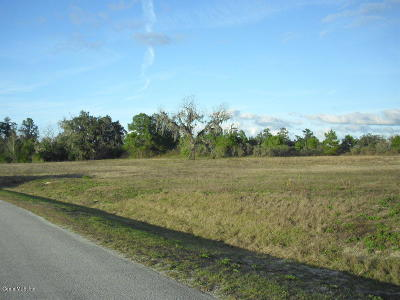 Belleview Residential Lots & Land For Sale: SE 37th Avenue Road