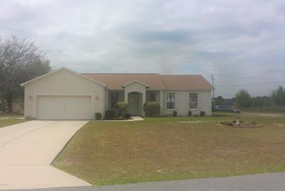 Ocala Single Family Home For Sale: 7000 SW 129th Place