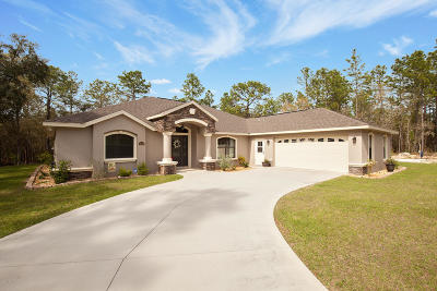 Ocala Single Family Home For Sale: 12411 SW 54 Lane Road