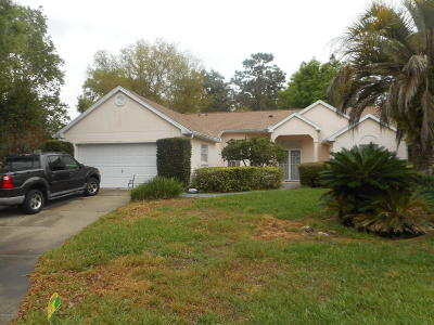 Ocala Single Family Home For Sale: 11598 SW 74 Court