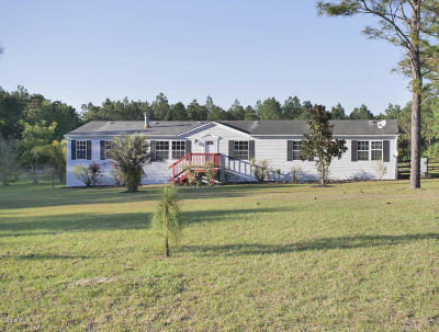 Levy County Single Family Home For Sale: 13551 SE 54 Street
