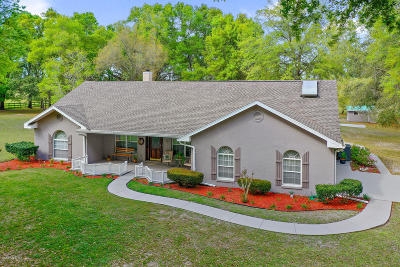 Ocala Single Family Home For Sale: 11 Wagon Wheel Way Way