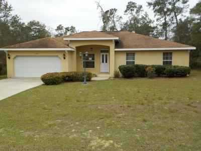 Ocala Single Family Home For Auction: 15765 SW 37th Circle