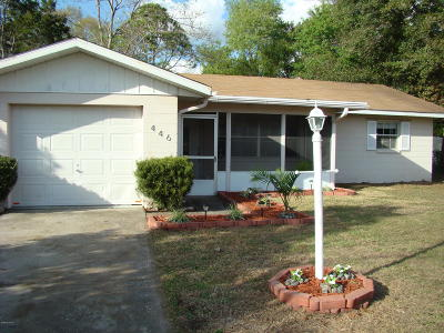 Ocala Single Family Home For Sale: 446 Spring Lane