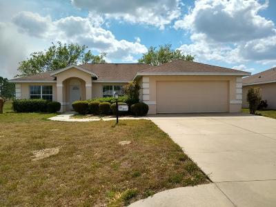 Ocala Single Family Home For Sale: 8707 SW 60th Circle