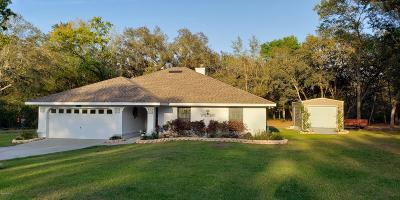 Ocala Single Family Home For Sale: 5741 SW 172nd Loop