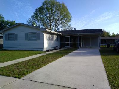 Ocala Single Family Home For Sale: 3573 SW 147th Lane Road