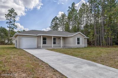Ocala Single Family Home For Sale: 22 Locust Run Radial