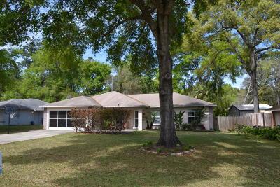 Ocala Single Family Home For Sale: 6330 Hemlock Road