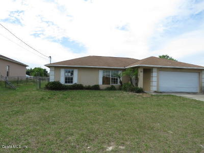 Ocala Single Family Home For Sale: 30 Juniper Pass Trail