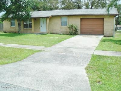 Marion County Rental For Rent: 3762 SW 147 Ln Road