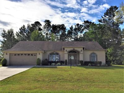 Ocala Single Family Home For Sale: 10851 SW 53rd Circle