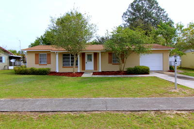 Ocala Single Family Home For Sale: 15175 SW 43rd Terrace Road