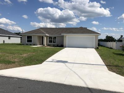Marion Oaks North, Marion Oaks South, Marion Oaks Rnc Single Family Home For Sale: 4760 SW 138th Loop