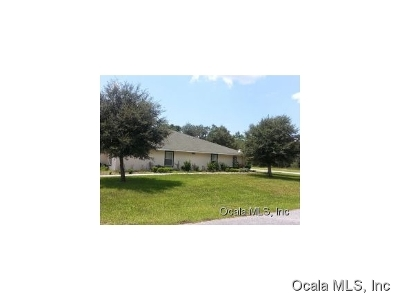 Marion County Rental For Rent: 15940 SW 29th Court Road #1