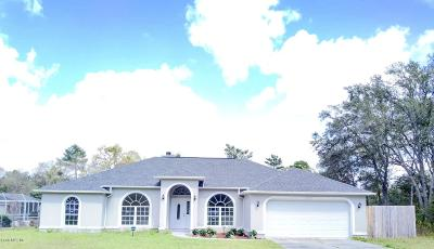 Ocala Single Family Home For Sale: 14465 SW 44th Avenue