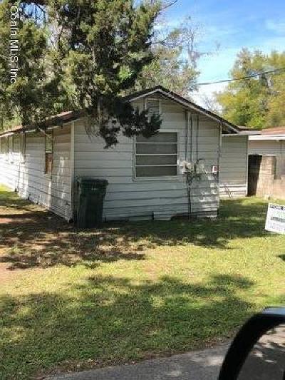 Ocala Single Family Home For Sale: 1510 NW 1st Avenue