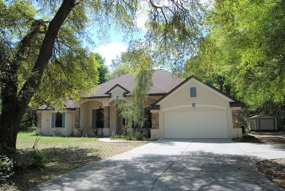 Hernando Single Family Home For Sale: 7332 N Nature Trail