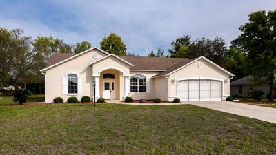 Ocala Single Family Home For Sale: 10987 SW 53 Circle